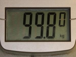 99 kilograms