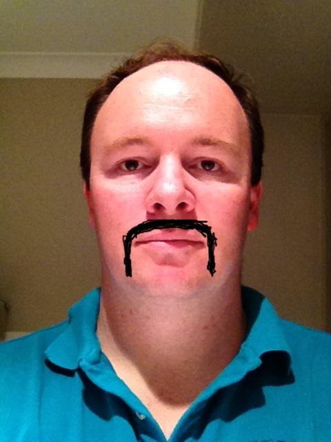 Alistair Lattimore Movember 2014 Artists Impression