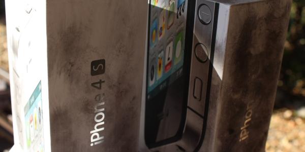 Break & Enter - iPhone Finger Print Dust