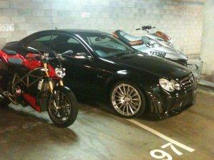 Ducati Motorbike, Mercedes SL63 AMG & Seadoo Jet Ski