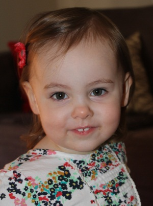 Evie Lattimore, 2nd Bithday - 18 May 2012