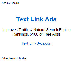 text links ad