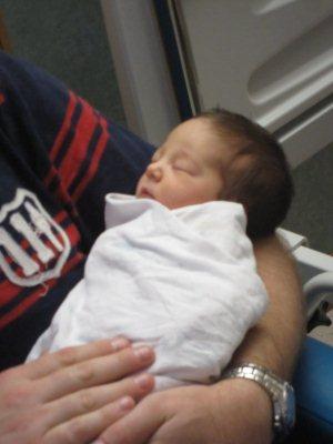 Grace Ivy Lattimore, born 1:48PM Saturday 12/3/2011 weighing 5lb 15oz & 46cm long