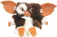 Gizmo, one of the lead characters out of the 1984 Gremlins movie.