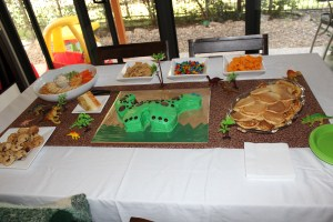 Hugo Lattimore, 3rd Birthday Party Table