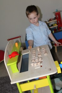 Hugo Lattimore, 3rd Birthday Tool Bench