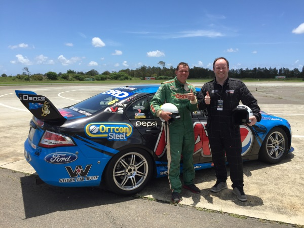 V8 Supercar Experience: Alistair Lattimore & Driver Steve Robinson